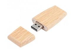 Roose USB-Stick: Praktischer USB-Stick aus Eichen-. bzw. Rosenholz. Verfügbare Speichergrößen: 1,